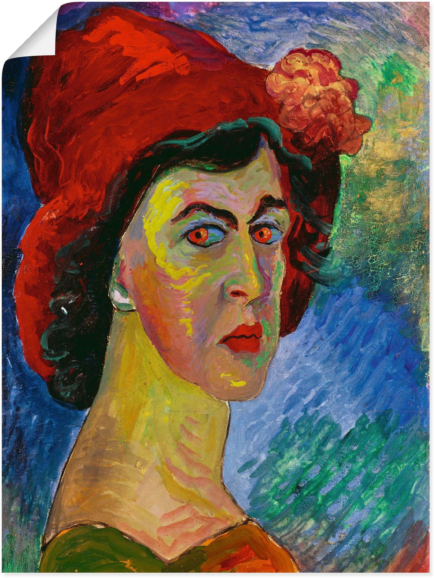 Artland artprint »Selbstbildnis I. um 1908.« bestellen: 30 dagen bedenktijd