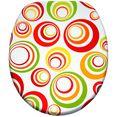 sanilo toiletzitting retro met soft-closemechanisme multicolor