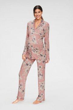 lascana zwangerschapspyjama roze