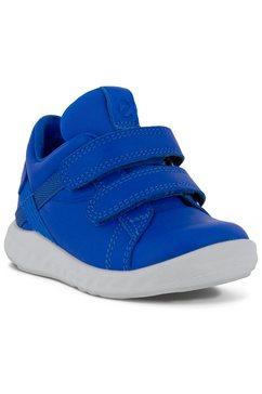 ecco babyschoentjes met lichte loopzool blauw