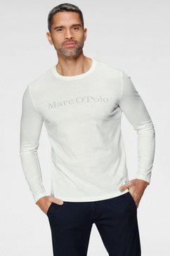 marc o'polo shirt met lange mouwen met marc o`polo print wit