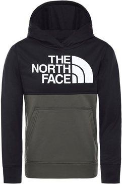the north face hoodie zwart