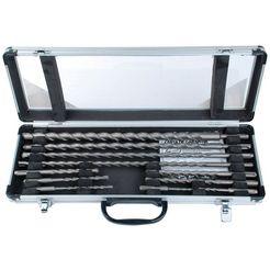 brueder mannesmann werkzeuge extra boor (set, 11-delig) zilver