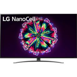 lg 55nano867na led-televisie (139 cm - (55 inch), 4k ultra hd, smart-tv zwart