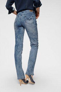 arizona rechte jeans »comfort-fit« blauw