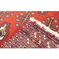 morgenland wollen kleed turkaman vloerkleed met de hand geknoopt roest bruin