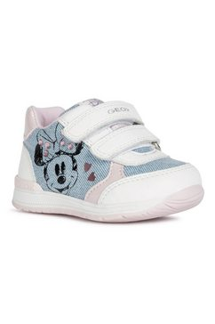 geox kids babyschoentjes rishon girl met leuke print wit