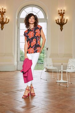 aniston selected lange blazer roze