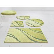 badmat »reno«, grund exklusiv, hoogte 20 mm, met antislip-coating, geschikt voor vloerverwarming groen