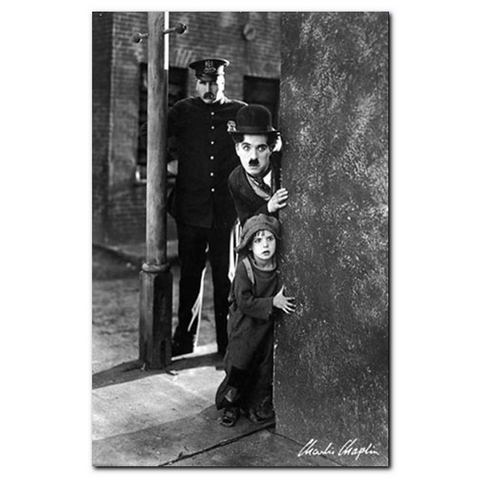 Artprint, Premium Picture, 'Charlie Chaplin, The Kid', afm. 60x90 cm