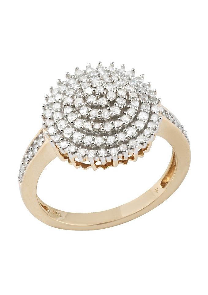Firetti diamantring Bloem/bloem met diamanten bestellen: 30 dagen bedenktijd