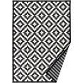 andas vloerkleed »tomke«, andas, rechthoekig, hoogte 3 mm, machinaal geweven zwart