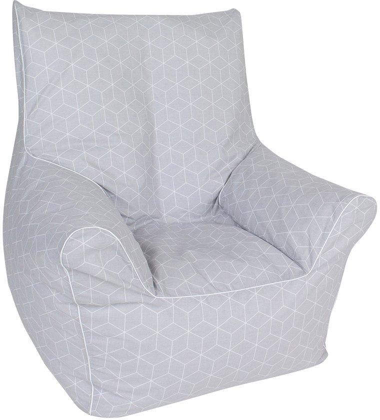 Knorrtoys zitzak Geo cube, grey voor kinderen; made in europe in de webshop van OTTO kopen