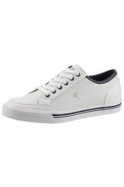 joop! sneakers met vetersluiting wit
