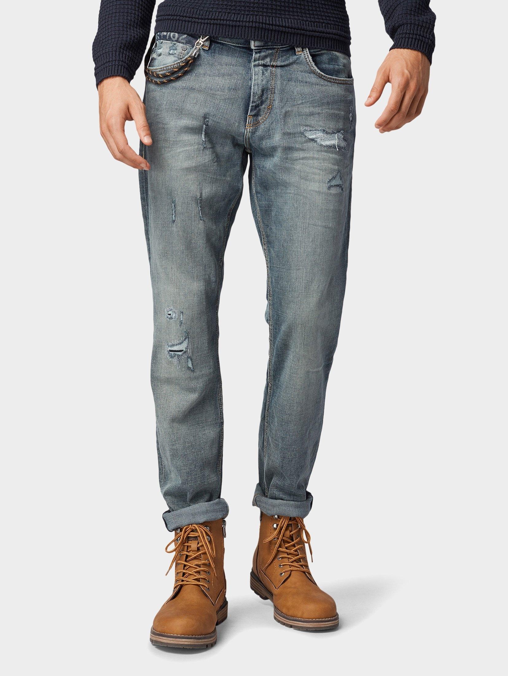 TOM TAILOR slim fit jeans »Josh regular slim jeans« nu online bestellen