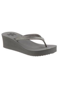 flip flop teenslippers glam*hi met zacht teenbandje grijs