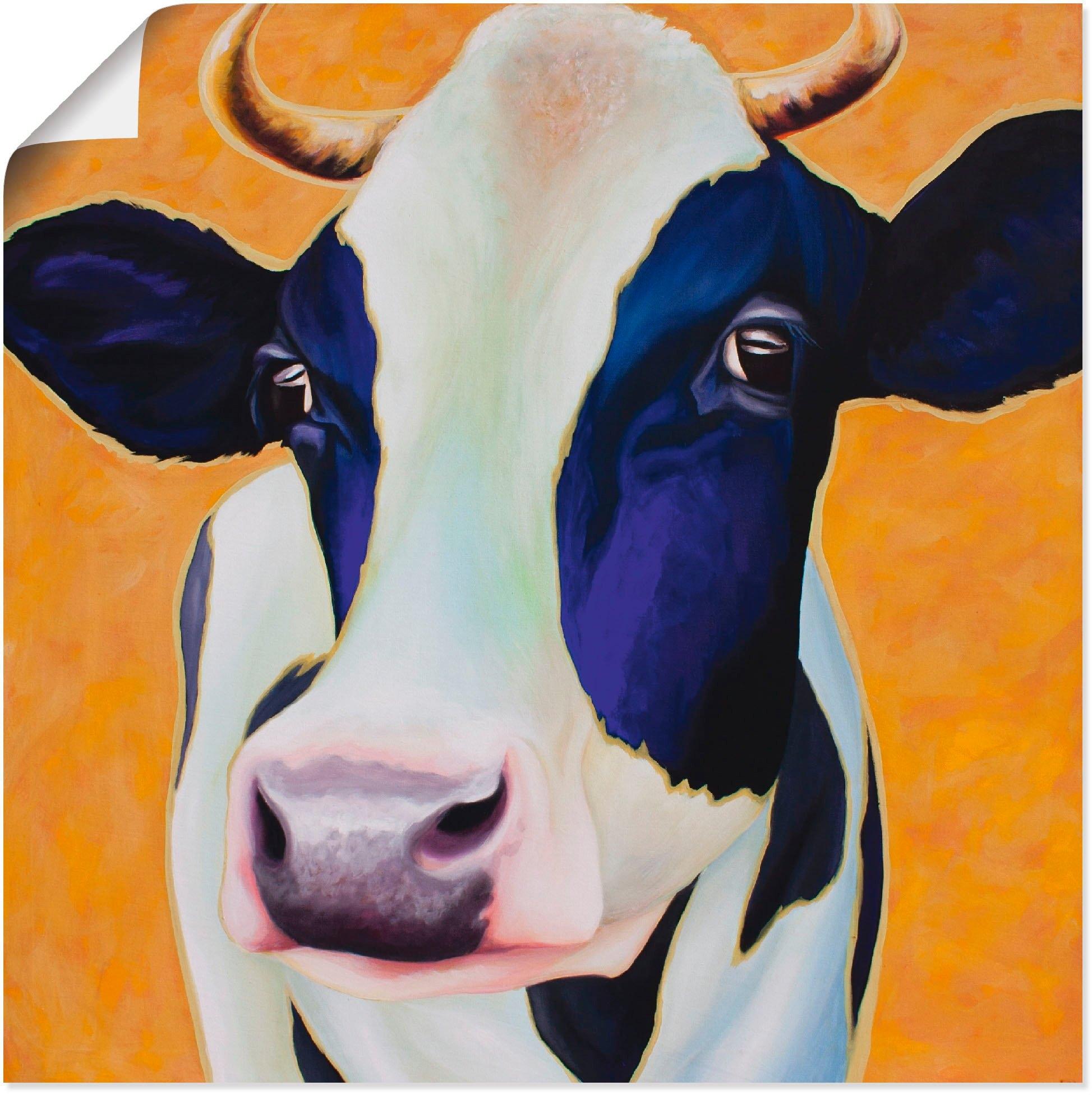 Artland artprint »Kuh Angelika« goedkoop op otto.nl kopen