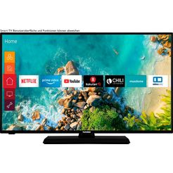 telefunken »d43f500m4cwi« led-tv zwart