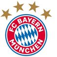 wall-art wandfolie voetbal fc bayern muenchen logo (1 stuk) multicolor