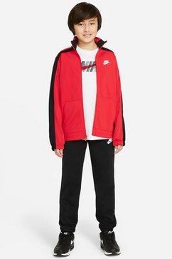 nike sportswear trainingspak nike sportswear hbr big kids' tracksuit (set) rood
