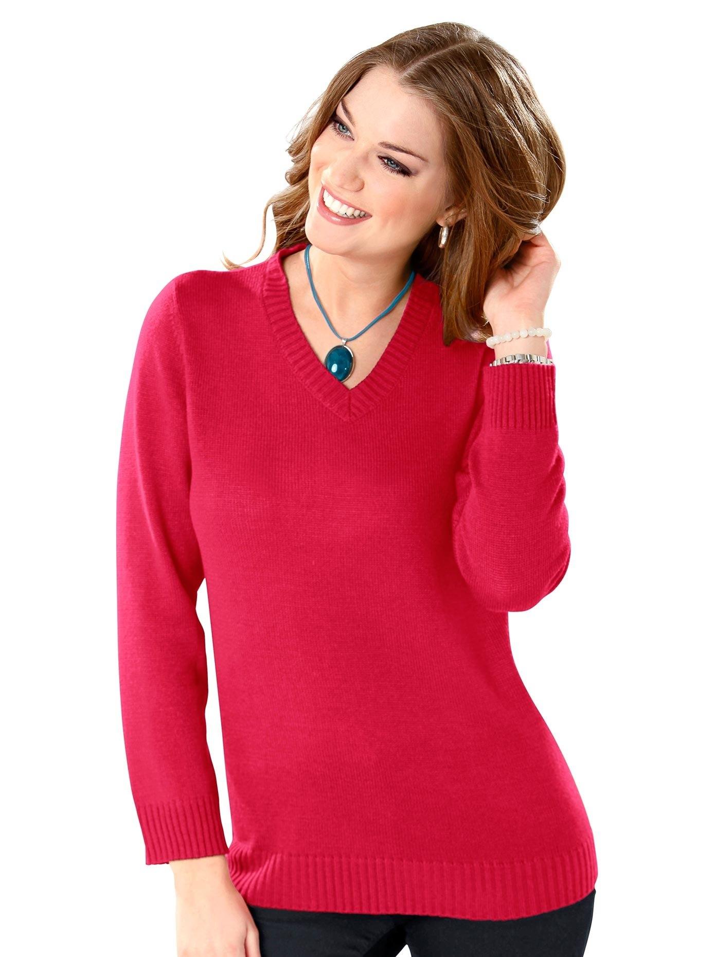 Classic Basics trui met V-hals voordelig en veilig online kopen