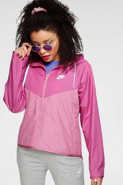 nike sportswear windbreaker nike sportswear windrunner women's jacket roze
