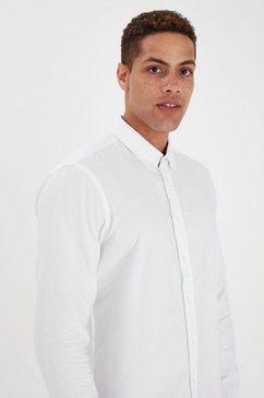 blend overhemd met lange mouwen bhnail wit