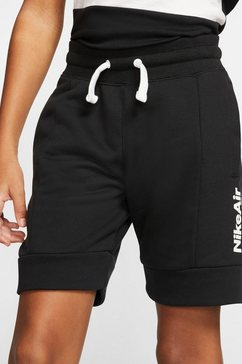 nike sweatshort »boys nike air frenchterry short« zwart