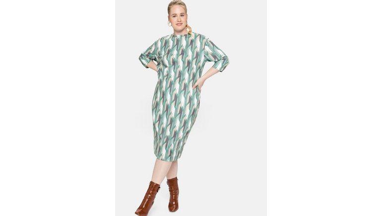 Sheego gedessineerde jurk
