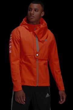 adidas performance runningjack »wind.rdy jacket« oranje