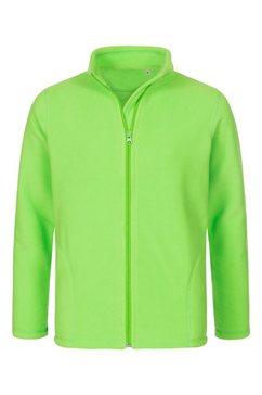 stedman fleece jacket kids active fleecejack »met uitstekende warmte-isolatie« groen