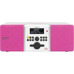 technisat digitale radio (dab+) digitradio 305 stereo schlagerparadies-editie wit