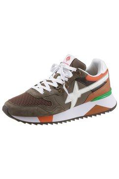 w6yz sneakers yak-m met zacht verdikte binnenzool groen