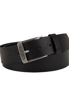 levi's leren riem new duncan belt zwart