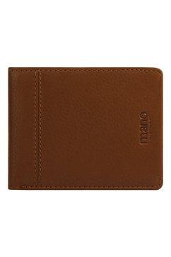 mano portemonnee don montez zeer slank design (1-delig) bruin