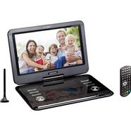 lenco draagbare dvd-speler »dvp-1273 12 inch met dvb-t2« zwart