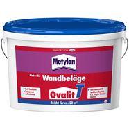 metylan behanglijm ovalit t 5 kg emmer, voor textielbehang, metalen behang (1-delig) wit