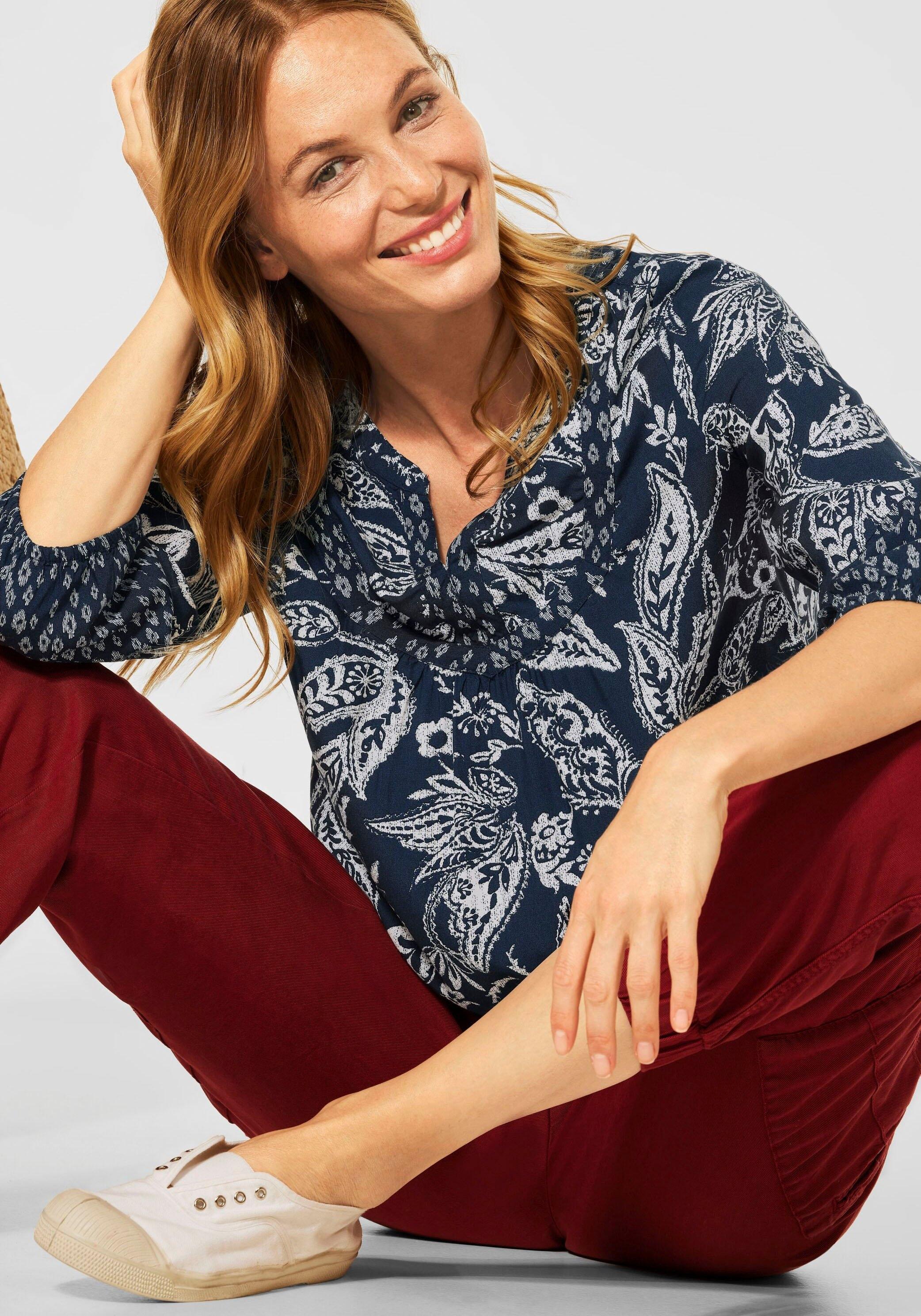 Cecil Gedessineerde blouse voordelig en veilig online kopen