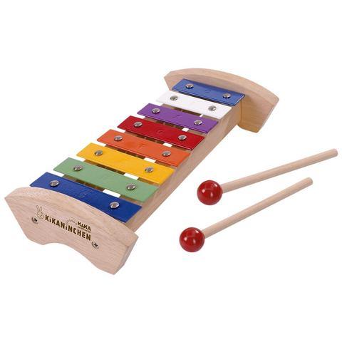 KIKANINCHEN Xylofoon van hout