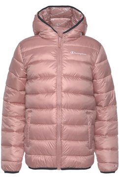 champion gewatteerde jas »hooded jacket« roze