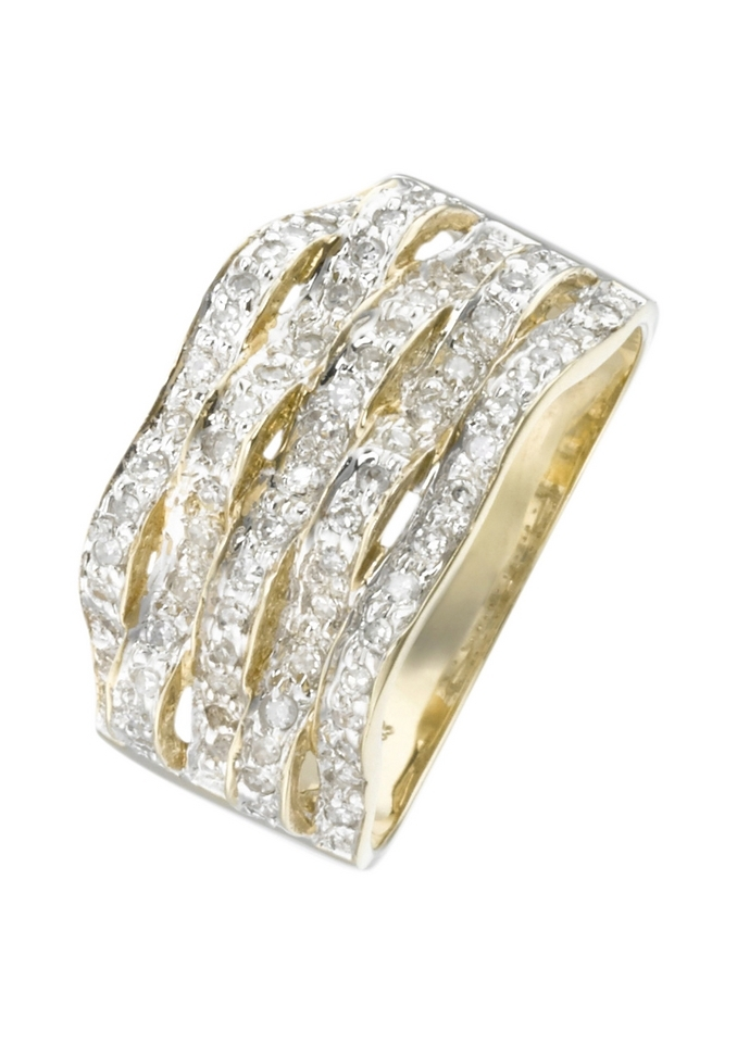 Firetti Vivance Jewels ring met diamanten goedkoop op otto.nl kopen
