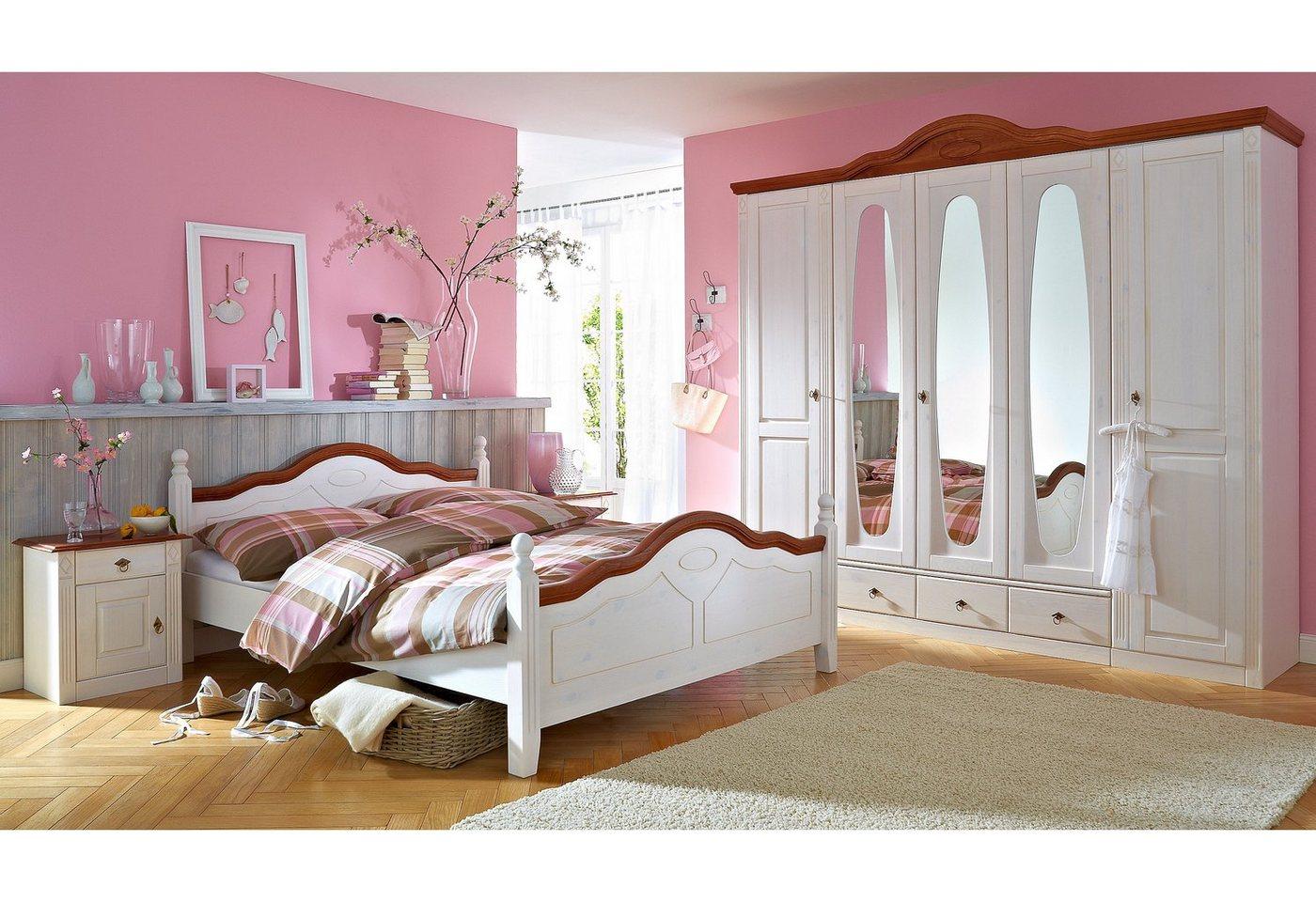 Wimex set slaapkamermeubelen met zweefdeurkast (4-dlg.)