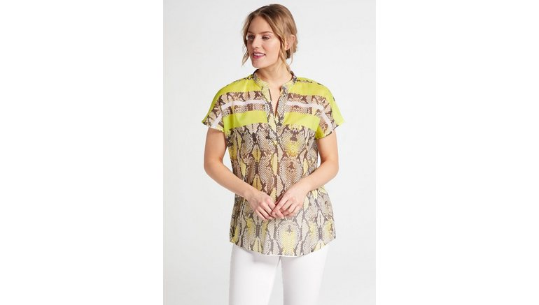 Eterna blouse met korte mouwen MODERN CLASSIC