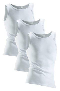 sporthemd, set van 3, clipper, exclusive wit