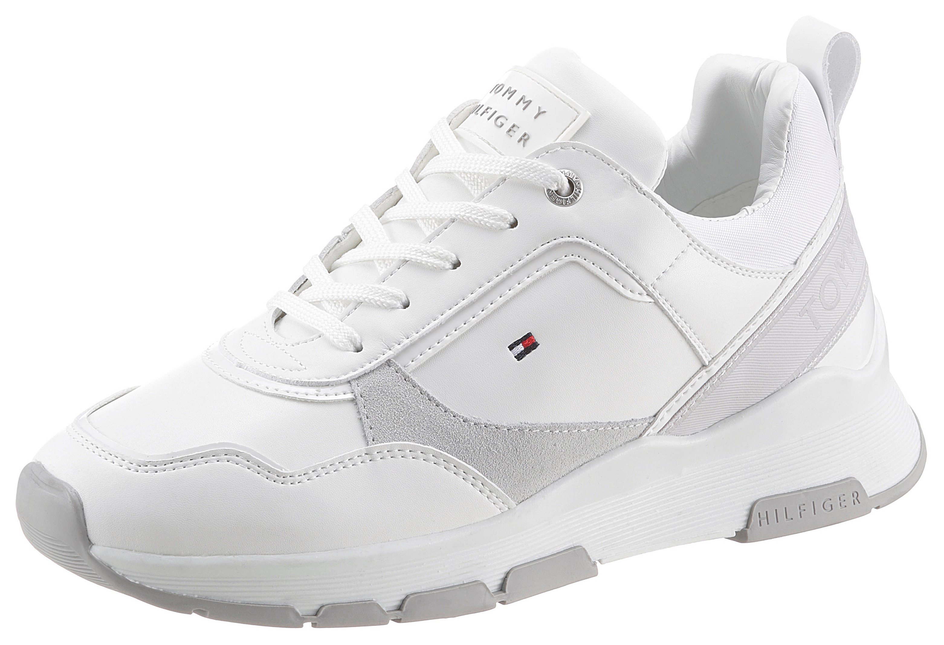 TOMMY HILFIGER sneakers »SPORTY CHUNKY LEATHER SNEAKER« - verschillende betaalmethodes
