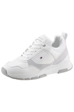 tommy hilfiger sneakers »sporty chunky leather sneaker«
