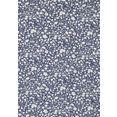 seidensticker businessoverhemd regular regular lange mouwen kentkraag bloemmotief blauw