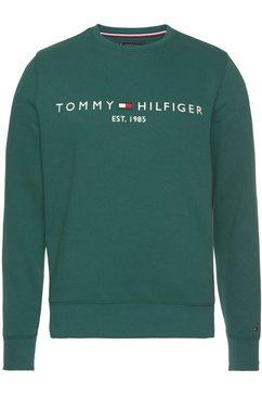 tommy hilfiger sweatshirt tommy logo sweatshirt groen