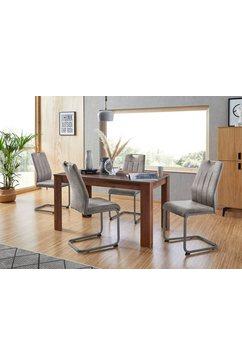 hela eethoek bestaand uit 4 stoelen  1x tafel (set, 5-delig) grijs
