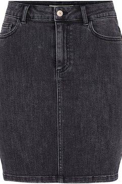 pieces jeansrok pclili zwart